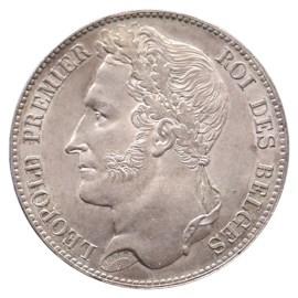 5 Frank 1848 Leopold I FDC-
