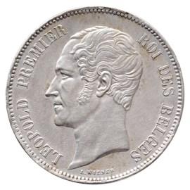 5 Frank 1850 Leopold I FDC-