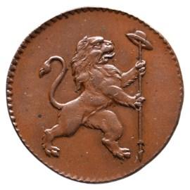 Dubbele Oord 1790 - Verenigde Belgische Staten Pr+