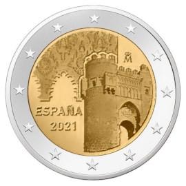 "Spanje 2 Euro ""Toledo"" 2021"