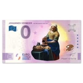 """0 Euro Biljet """"Het Melkmeisje"""" - Kleur"""