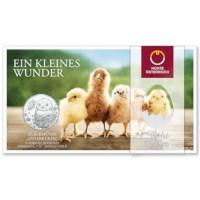"Oostenrijk 5 Euro ""Pasen"" 2021 BU"