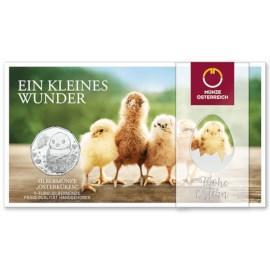 Autriche 5 euros « Pâques » 2021 BU