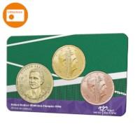 Richard Krajicek Wimbledon jubileum in coincard