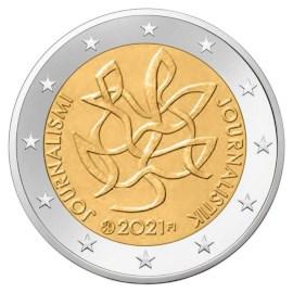"""Finland 2 Euro """"Journalism"""" 2021"""