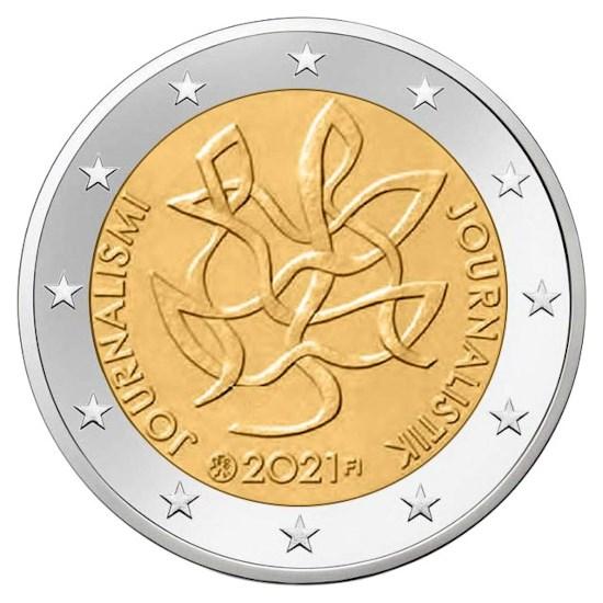 "Finland 2 Euro ""Journalistiek"" 2021"