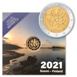 "Finland 2 Euro ""Journalism"" 2021 Proof"