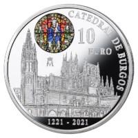 "Spanje 10 Euro ""Burgos"" 2021"