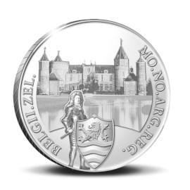 """Silver Ducat """"Westhove Castle"""" 2021"""