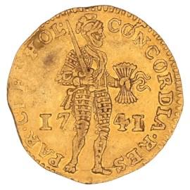 Gouden Dukaat Holland 1741 ZFr