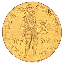Gouden Dukaat Holland 1796 ZFr