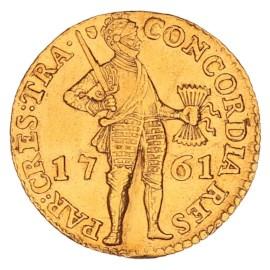 Gouden Dukaat Utrecht 1761 ZFr