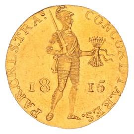 Gouden Dukaat Willem I 1815 ZFr+
