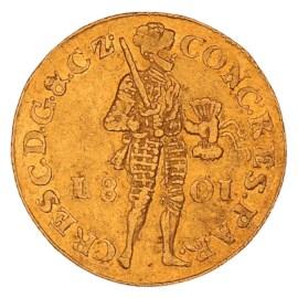 Gouden Dukaat Gelderland 1801 ZFr