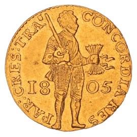 Gouden Dukaat Utrecht 1805 ZFr+