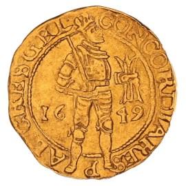Gouden Dukaat Gelderland 1649 ZFr
