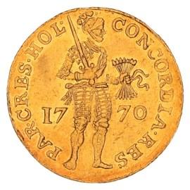 Gouden Dukaat Holland 1770 ZFr