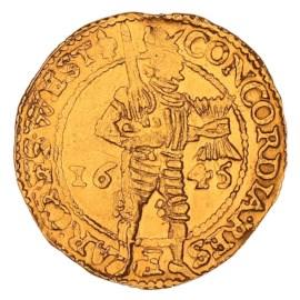Gouden Dukaat West-Friesland 1645 ZFr