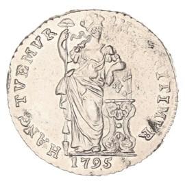 1 Gulden Gelderland 1795 ZFr+