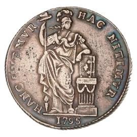 3 Gulden West-Friesland 1795 ZFr+