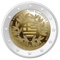 """Griekenland 2 Euro """"Onafhankelijkheid"""" 2021"""