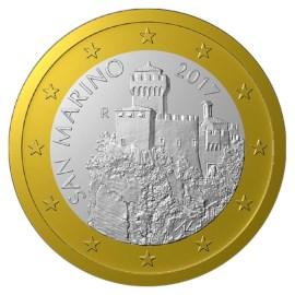 San Marino 1 Euro 2021 UNC