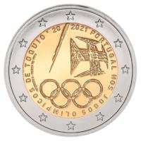 """Portugal 2 Euro """"Olympische Spelen"""" 2021 BU"""