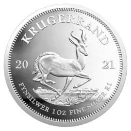 Zuid-Afrika 1 Oz. Krugerrand 2021 Zilver Proof