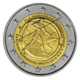 Greece 2 Euro ''Marathon'' 2010