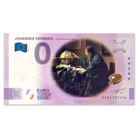 """0 Euro Biljet """"De Astronoom"""" - Kleur"""