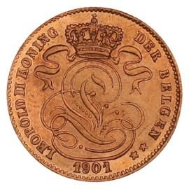 1 Centime 1869-1907 NL - Léopold II UNC