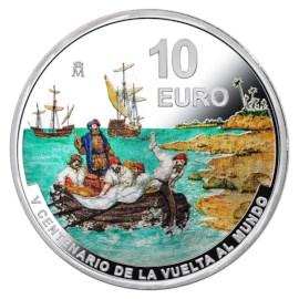 """Spanje 10 Euro """"Vuelta al Mundo"""" 2021"""