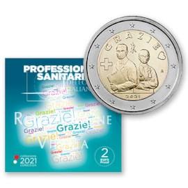 "Italië 2 Euro ""Grazie"" 2021 Proof"