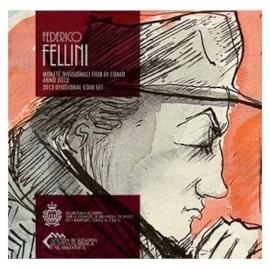 "San Marino BU Set 2013 + 5 Euro ""Fellini"""