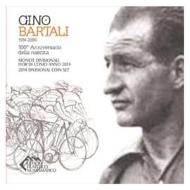 """San Marino BU Set 2014 + 5 Euro """"Bartali"""""""