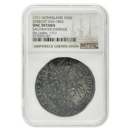Zilveren Rijder (Dukaton) Utrecht 1711 ZFr
