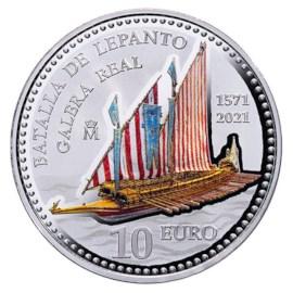 """Spanje 10 Euro """"Lepanto"""" 2021"""