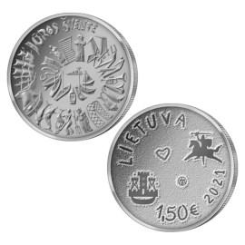 """Litouwen 1,5 Euro """"Klaipéda Festival"""" 2021"""