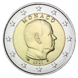 Monaco 2 Euro 2021 UNC