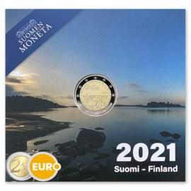 "Finland 2 Euro ""Åland"" 2021 Proof"