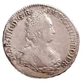 1/2 Ducaton 1749 - Marie-Thérèse TTB