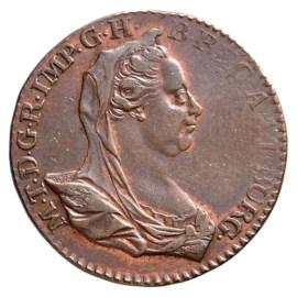 Double Liard 1777 - Marie-Thérèse Sup-