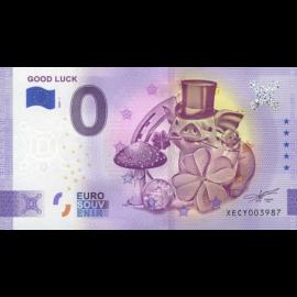 0-euro biljet Geluk