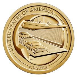 """US Innovation Dollar """"Virginia"""" 2021 D"""