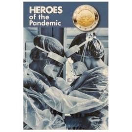 Malte 2 euros « Héros de la Pandémie » 2021