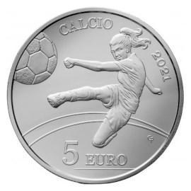 "San Marino 5 Euro ""Football"" 2021"