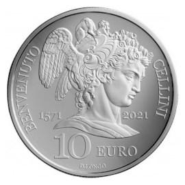 """San Marino 10 Euro """"Cellini"""" 2021"""