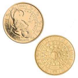"San Marino 5 Euro ""Capricorn"" 2021"