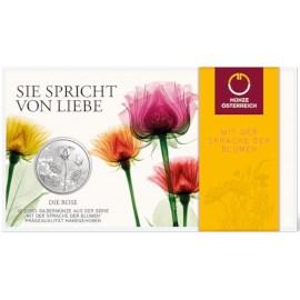 "Austria 10 Euro ""Rose"" 2021 BU"