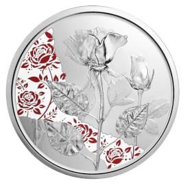 """Austria 10 Euro """"Rose"""" 2021 Proof"""